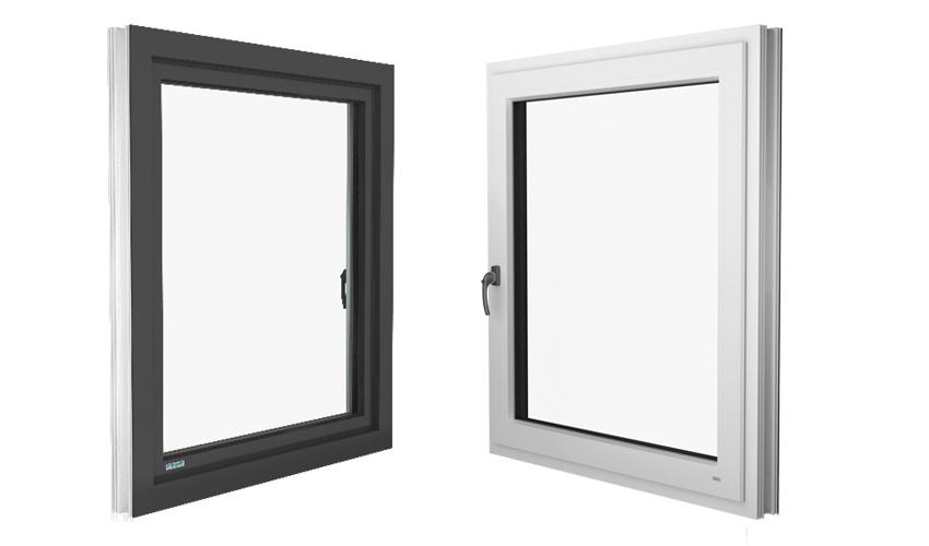 Kunststoff/ Aluminiumfenster